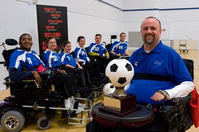 Team picture with Coach Chris Finn