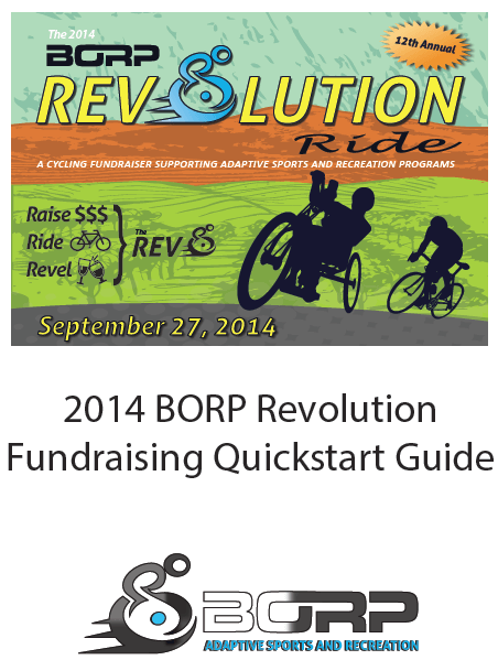 The 2014 BORP Rev Fundraising Quickstart Guide