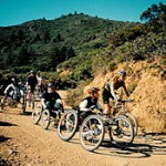 Adaptive mountain bikers race down Mt. Tam