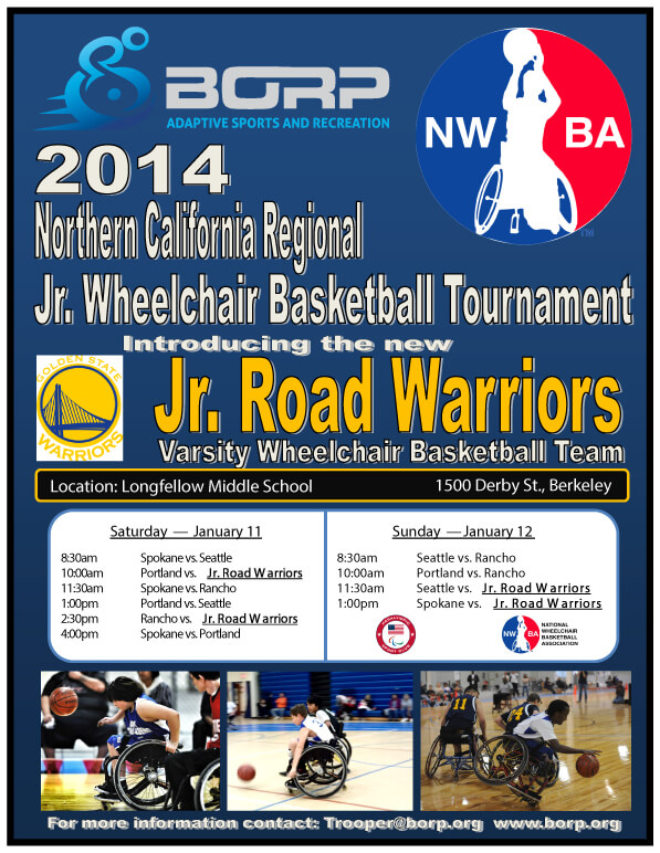 NorCal Regional Tournament flyer