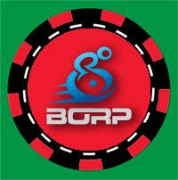 BORP poker chip