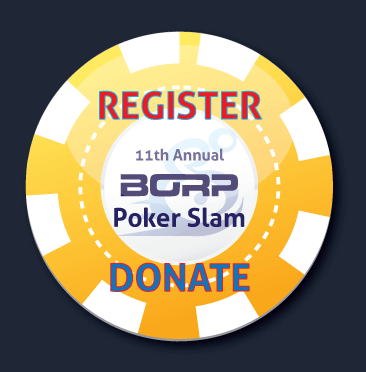 The 2014 Poker Slam poker chip button