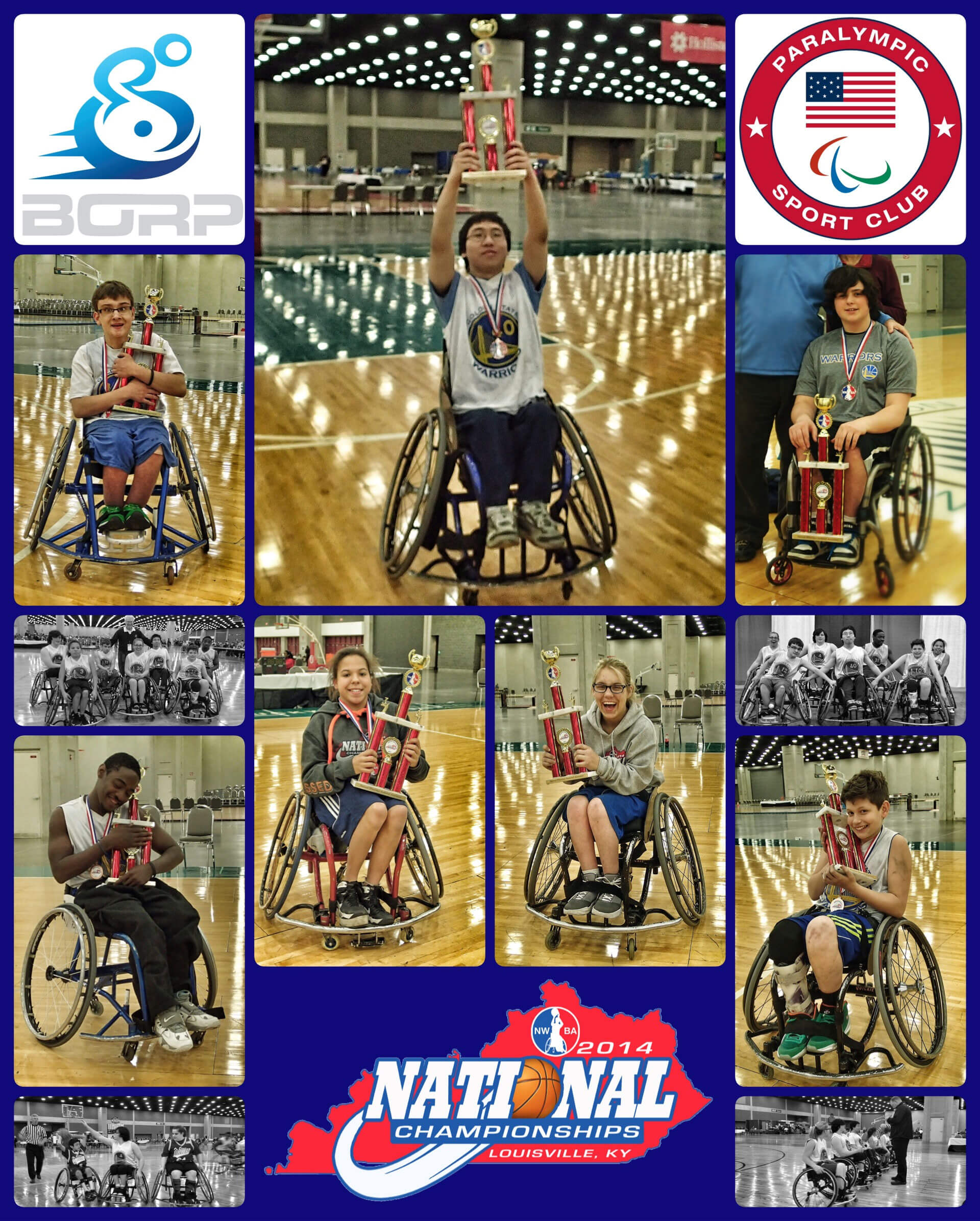 photo grid from the 2014 NWBA NAtional Championship Tournament