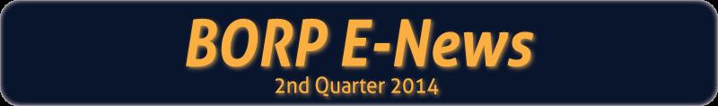 BORP E-News banner