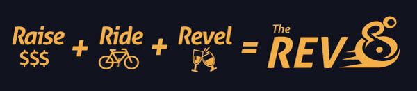 Raise. Ride. Revel. The Rev.