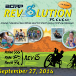 The 12th Annual Revolution Ride is on September 27, 2014