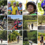 A grid of images from the 2014 BORP Revolution Ride