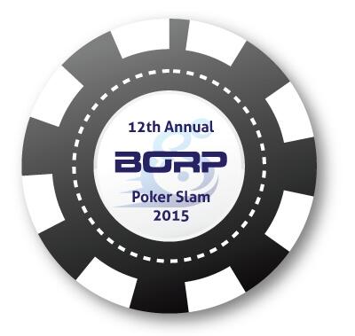The 2015 BORP Poker Slam poker chip icon