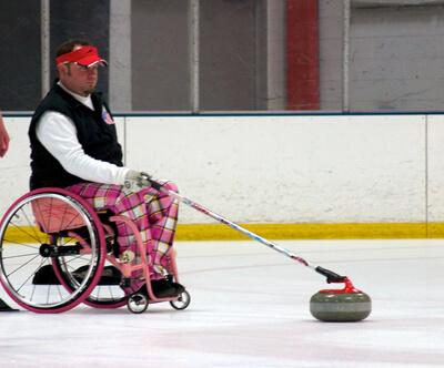 Patrick McDonald, US Paralympic Curler