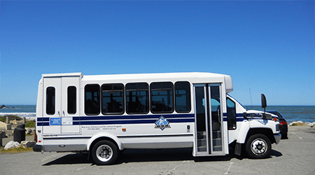 BORP Bus in Pacifica, CA