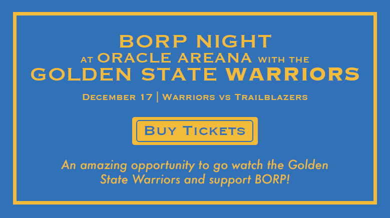 BORP Night at Oracle Arena with the Golden State Warriors