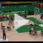 Gold Medal game: USA v GER Women's Wheelchair Basketball