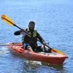 kayaking at BORP Sportsfest