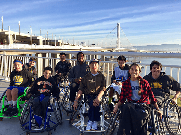 Great job pushing across the Bay Bridge!