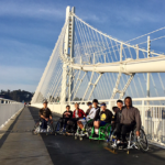 BORP's Varsity Basketball Team on the Bay Bridge