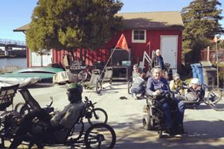 BORP's Adaptive Cycling Center