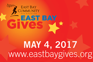East Bay Community Foundation's East Bay Gives logo
