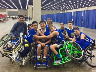 recap of the 2017 national wheelchair basketball tournament in
