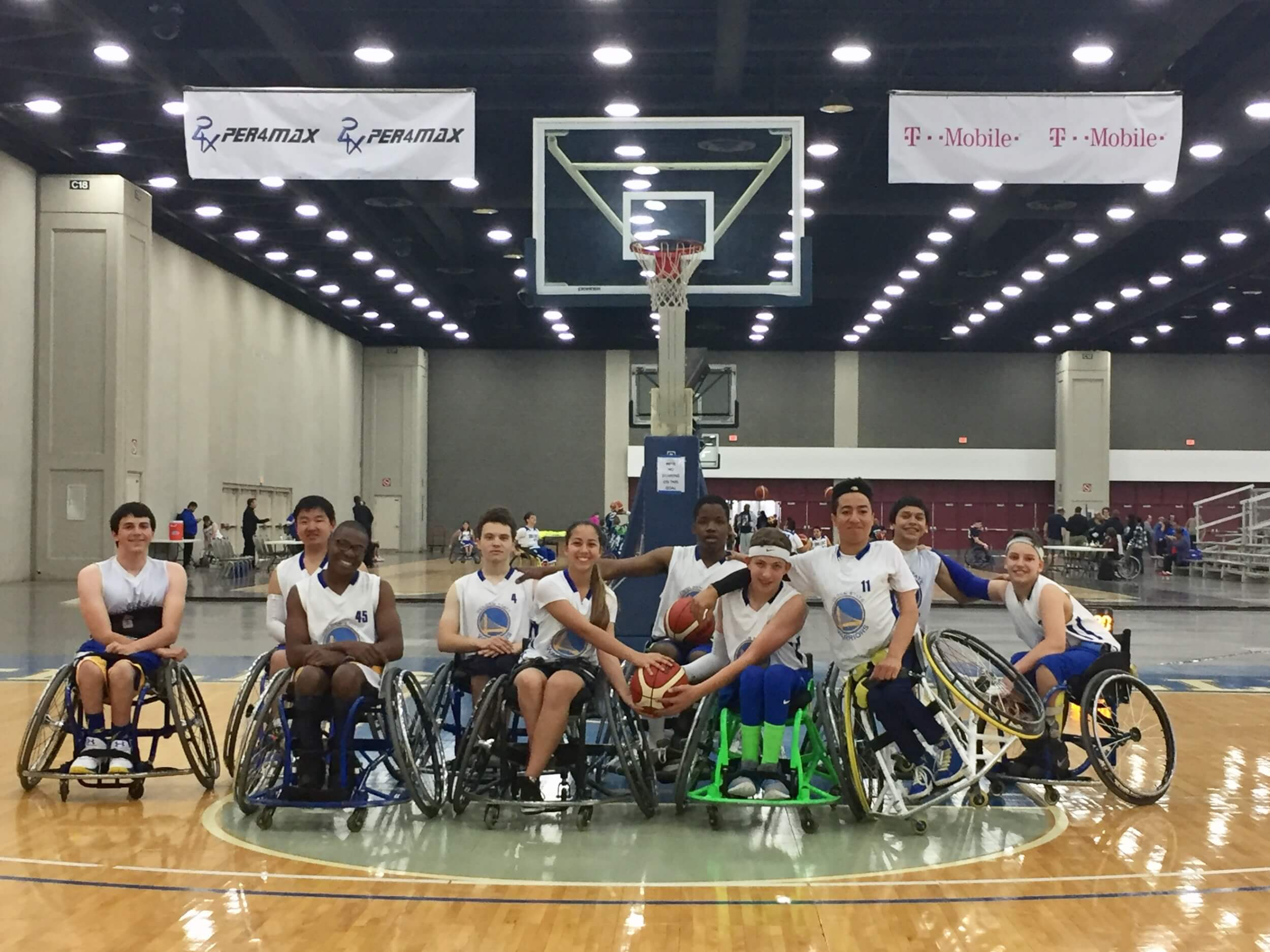Hoops For Hearts Basketball Bright Blue New American Heart Association Structural Disabilities Team Sports Balls