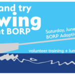 Come and try rowing at BORP on Saturday June 17