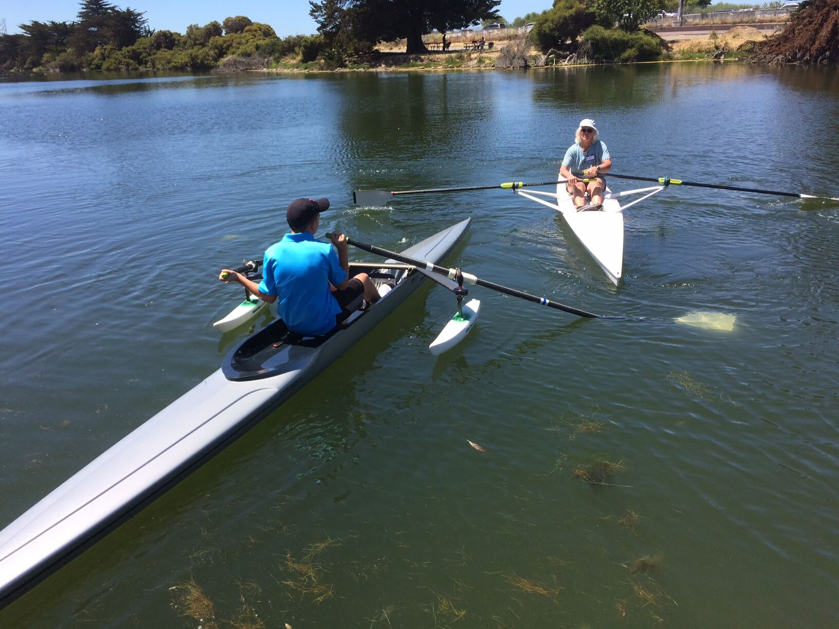 Learning to row at BORP