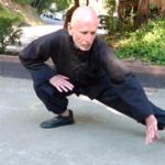 Ralph Somach practicing Pa Kua