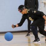 Christella Garcia throws the ball