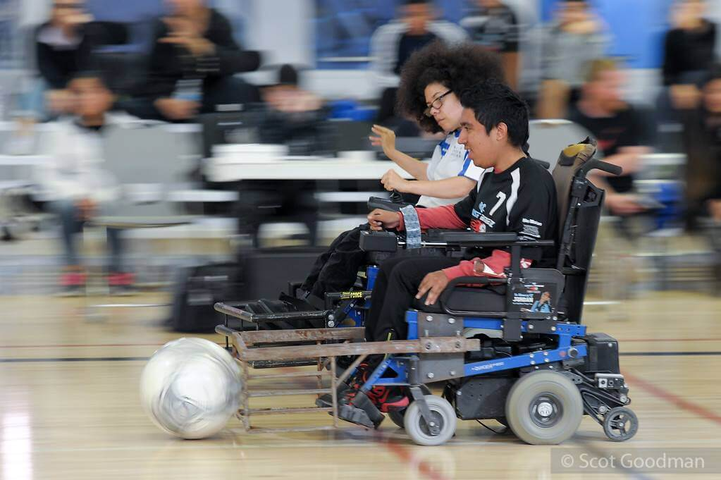 BORP hosts Power Soccer Tournament, Nov 2017