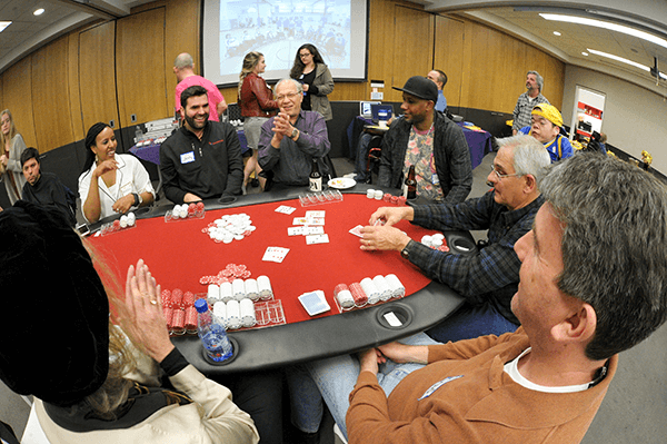 Playing Poker at the 2017 BORP Poker Slam