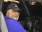 Joe behind the wheel of the BORP Bus