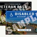 Image of Distinguished Veteran Passes and Disabled Discount Passes