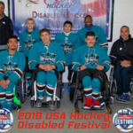 Sharks Sled Hockey group photo
