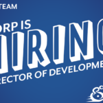 Join our team. BORP is hiring, director of development