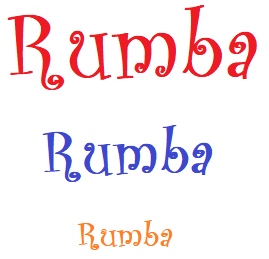 Rumba Rumba Rumba