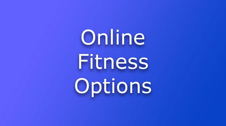Online Fitness Options