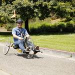 Cyclist Riding - Ride Share San Francisco