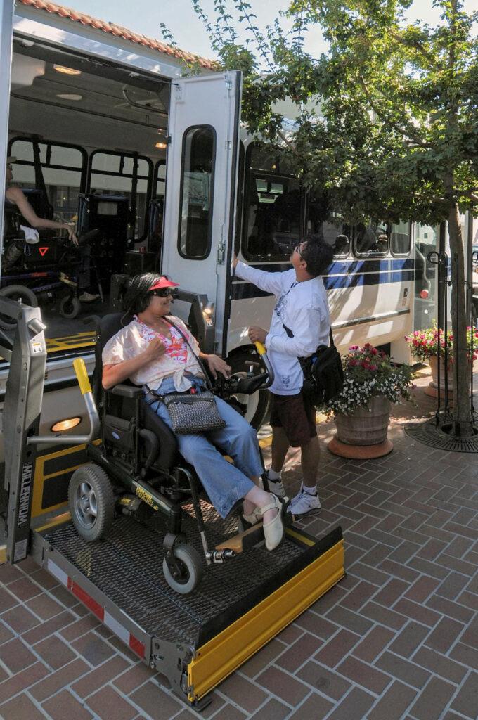 BORP Transportation Program_Arriving at Destination