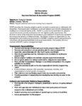 Athletic Director Job Description