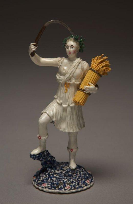 Le Fils de Nevers_Figure of Sumemr_Glass on Metal_1750